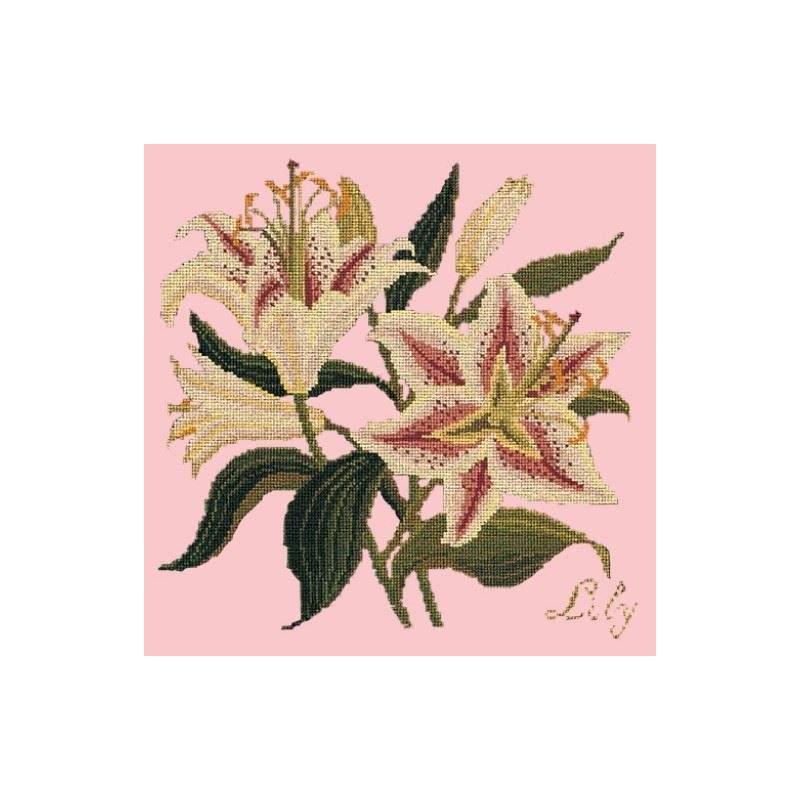Elizabeth Bradley, Botanical Garden, LILY - 16x16 pollici