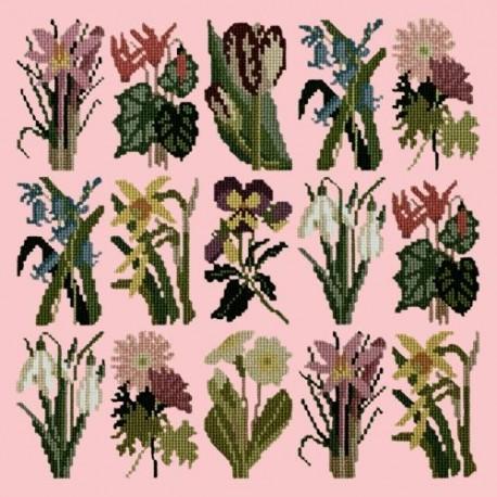 Elizabeth Bradley, Botanical Garden, PRIMAVERA - 16x16 pollici