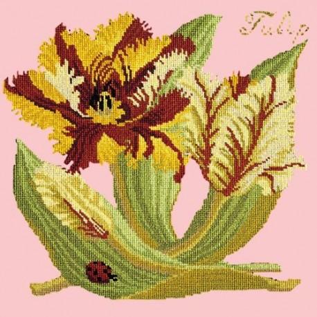 Elizabeth Bradley, Botanical Garden, TULIP - 16x16 pollici
