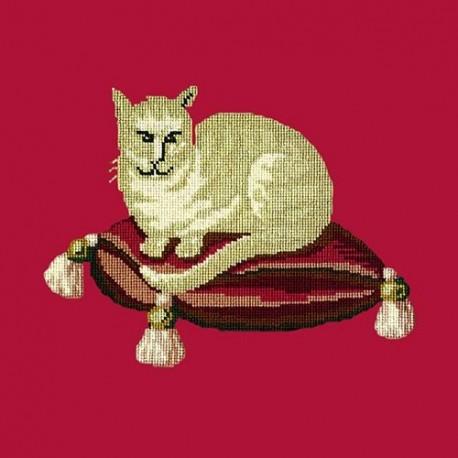 Elizabeth Bradley, Victorian Animals, CREAM CAT - 16x16 pollici