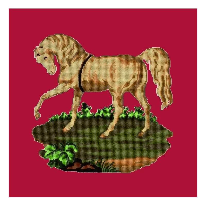 Elizabeth Bradley, Victorian Animals, PALOMINO HORSE - 16x16 pollici Elizabeth Bradley - 2