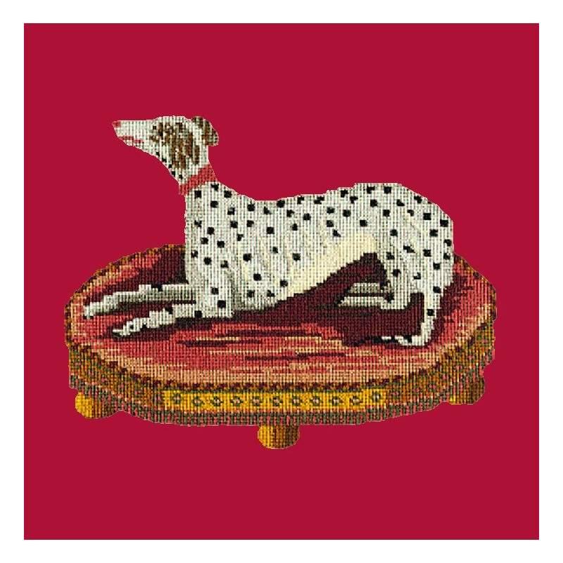 Elizabeth Bradley, Victorian Animals, SPOTTED DOG - 16x16 pollici