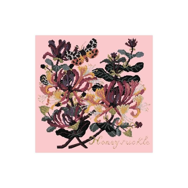 Elizabeth Bradley, Climbing Flower, HONEYSUCKLE - 16x16 pollici Elizabeth Bradley - 2