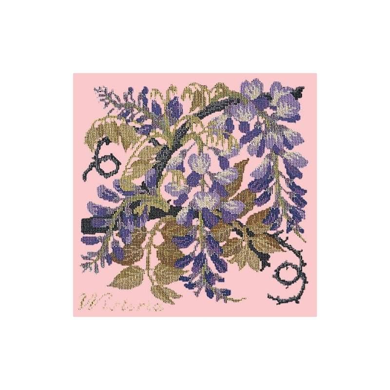 Elizabeth Bradley, Climbing Flower, WISTERIA - 16x16 pollici Elizabeth Bradley - 3