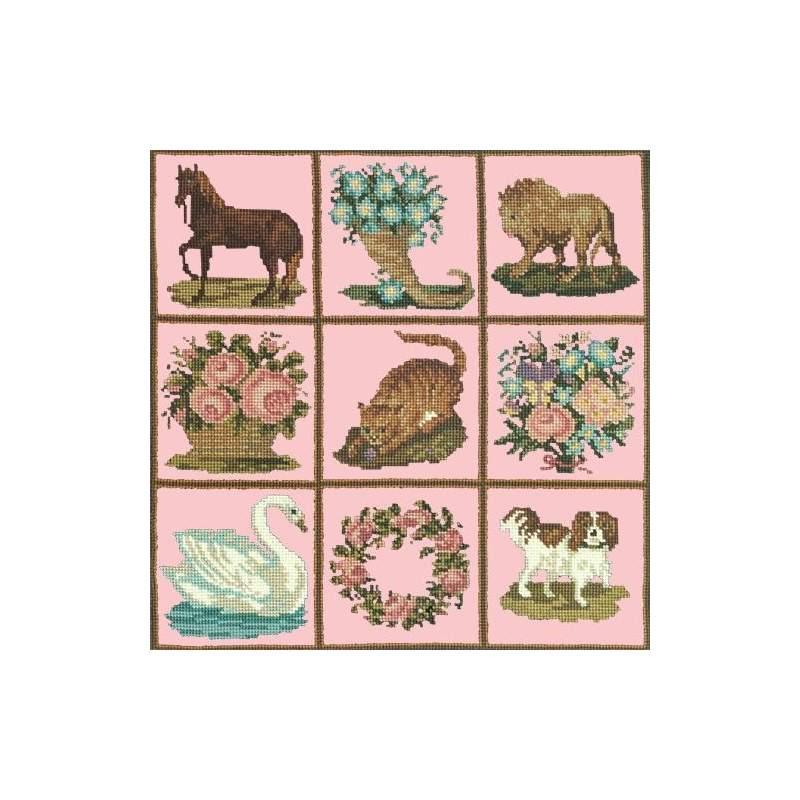 Elizabeth Bradley, Decorative Victorian, PATCHWORK PIECES - 16x16 pollici Elizabeth Bradley - 2