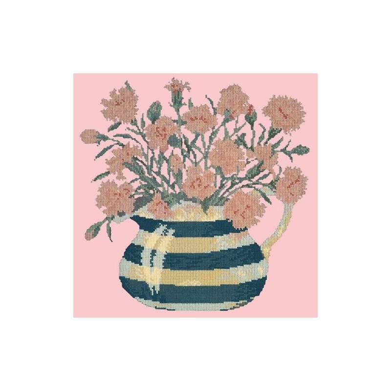 Elizabeth Bradley, Flower Pots, CARNATION JUG - 16x16 pollici Elizabeth Bradley - 2