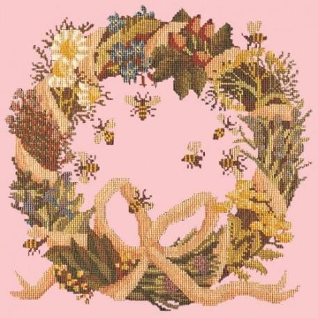 Elizabeth Bradley, Fruits of the Earth, WREATH OF HERBS - 16x16 pollici Elizabeth Bradley - 2
