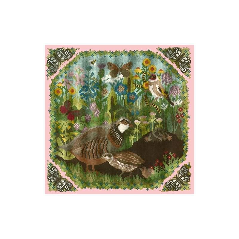 Elizabeth Bradley, Natural History, MEADOW - 16x16 pollici