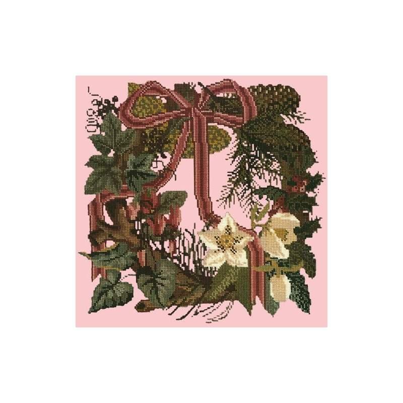 Elizabeth Bradley, Victorian Flowers, WINTER WREATH - 16x16 pollici Elizabeth Bradley - 2