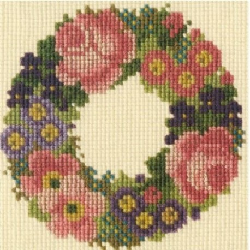 Elizabeth Bradley, Mini Kits, BABY WREATH - 6x6 pollici
