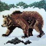 Elizabeth Bradley, Mini Kits, BROWN BEAR - 6x6 pollici