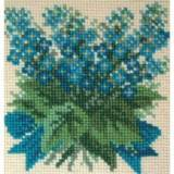 Elizabeth Bradley, Mini Kits, FORGET ME NOT - 6x6 pollici