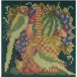 Elizabeth Bradley, Mini Kits, FRUITS AND BIRDS - 6x6 pollici