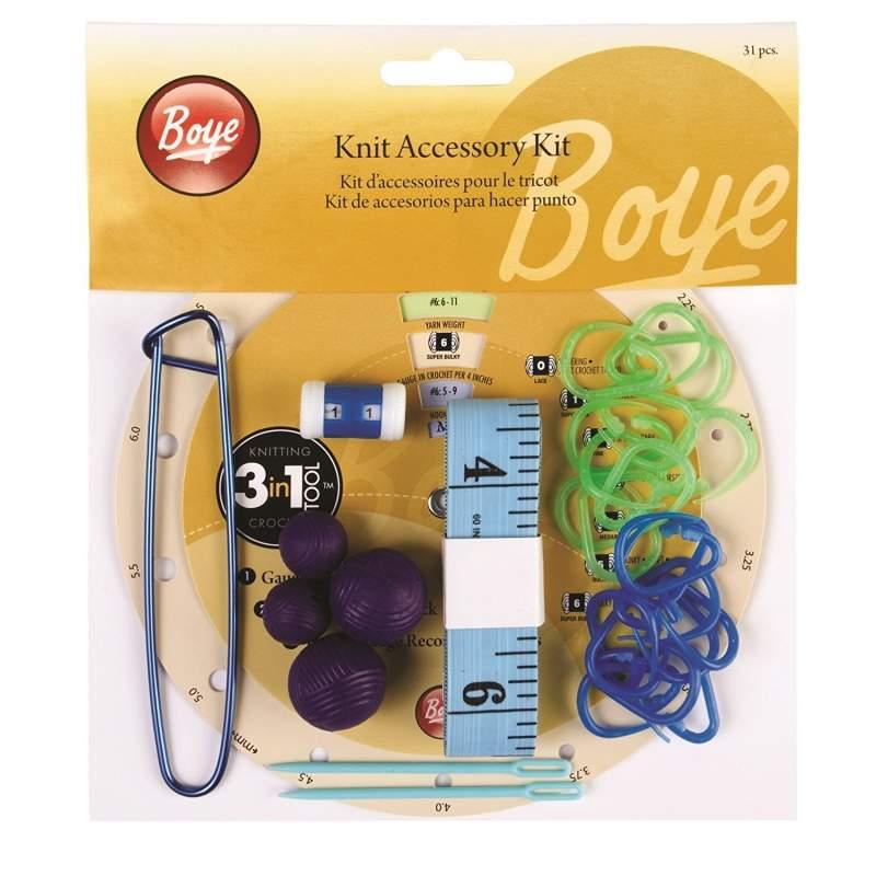 Boye, Kit di Accessori per la Maglia