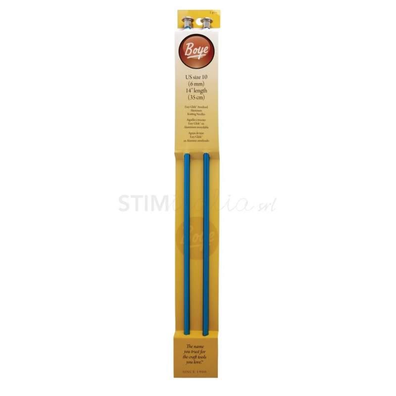 Boye, Ferri per la Maglia da 35 cm in Alluminio - n. 10