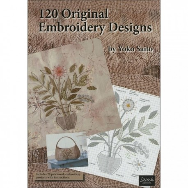120 Original Embroidery Designs - 225 pagine