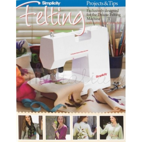 Felting Projects & Tips Book (Progetti per feltro e suggerimenti)