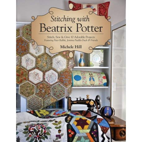 Stitching with Beatrix Potter - 64 pagine