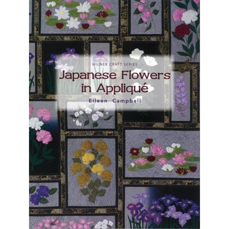Japanese Flowers in Appliqué - 72 pagine