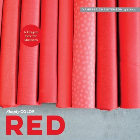 Simply Color: Red - 96 pagine