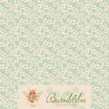 Tilda 110 Cherry Blossom Teal Bumblebee