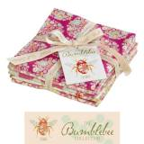"Tilda Fat Quarter Bundle Pink, ""Bumblebee"" 5 pz"