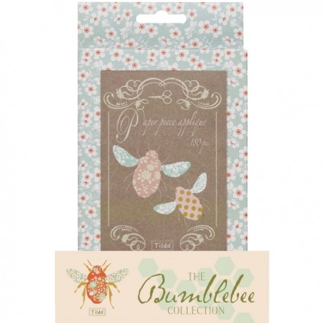 Tilda Paper Piecing - Api per Applique, Bumblebee