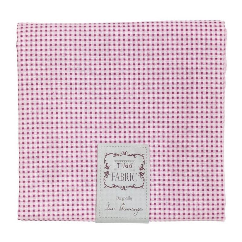 Tilda Fat Quarter Mini Gingham Red Tilda Fabrics - 1