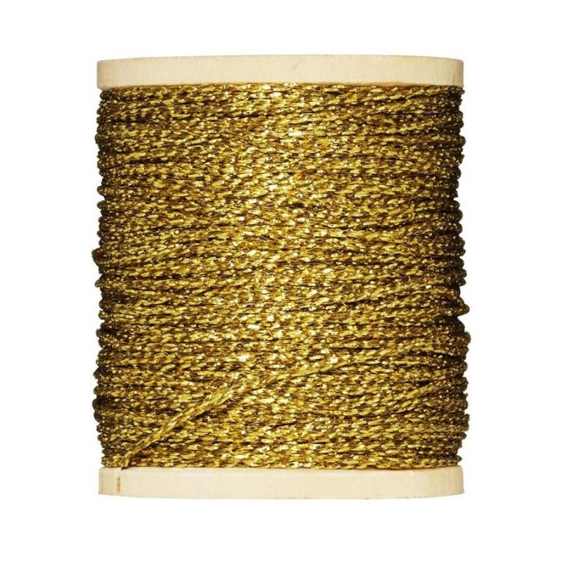 Tilda gold string on spool, 60 mt