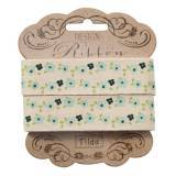 "Tilda ribbon 20 mm Flower G.Teal ""Spring Lake"""