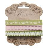 "Tilda ribbon set ""Apple Bloom"" 10 mm, 3pz"