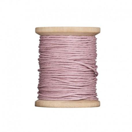 """Tilda hemp twine on spool pink """"Painting Flowers"""", 20 mt"""