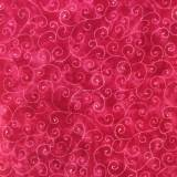 Moda Fabrics Marble Swirls, Tessuto Fucsia con Ghirigori