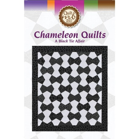 Chameleon Quilts A Black Tie Affair - Quilt Pattern