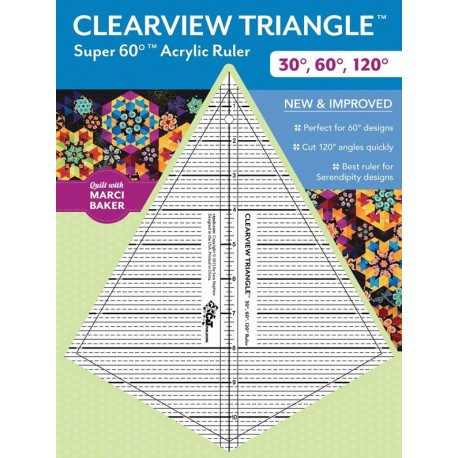 Clearview Triangle Super 60° - Sqadra in Acrilico