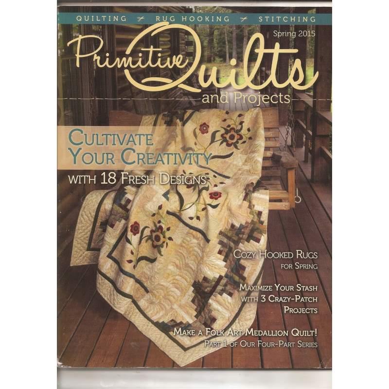 Primitive Quilts Spring 2015 - 107 pagine