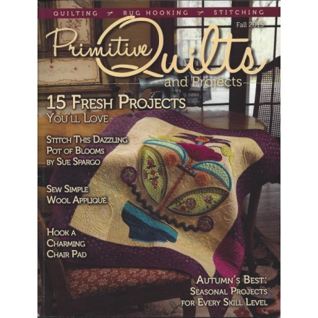Primitive Quilts Fall 2015 - 103 pagine