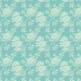 Tilda 110 Flower Bush Teal