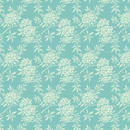 Tilda 110 Flower Bush Teal