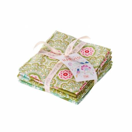 Tilda Fat Quarter Bundle Green