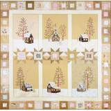 Crabapple Hill Studio, Lace Cabins Block of the Month Full Set