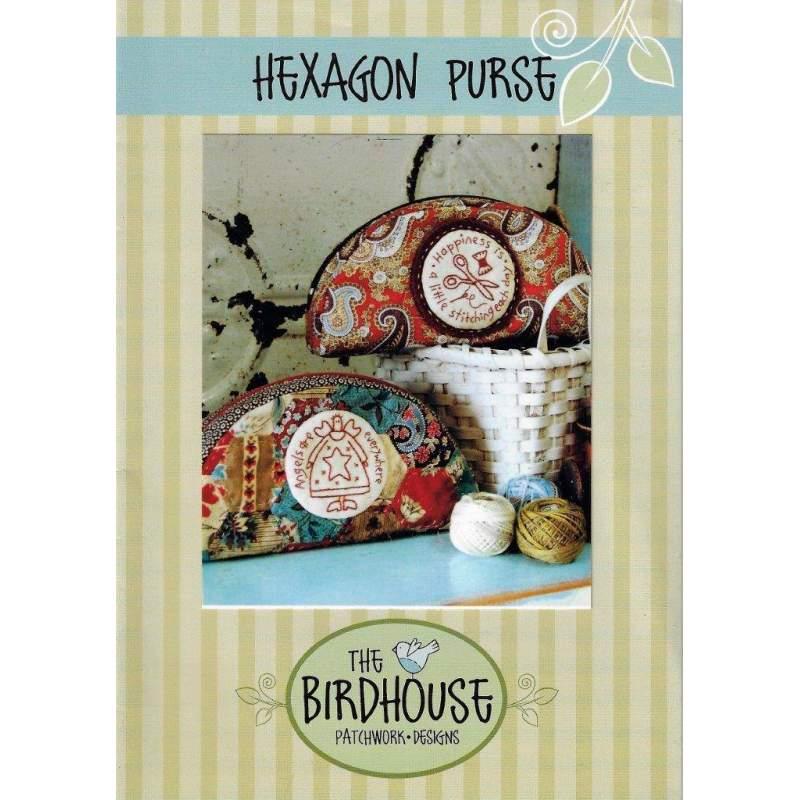 The Bird House, Hexagon Purse