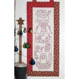 The BirdHouse, Santa's Workshop – Christmas Pre-Printed Stitchery