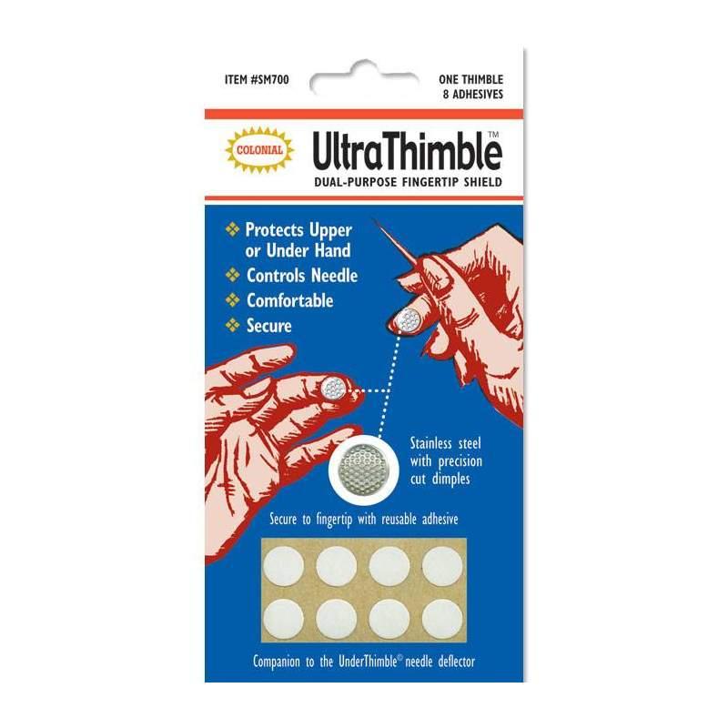 Colonial - Ditale per polpastrello in acciaio - Ultra Thimble