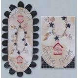 Lynette Anderson Designs, Welcome Friends Table-Runer