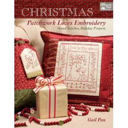 Martingale, Christmas Patchwork Loves Embroidery