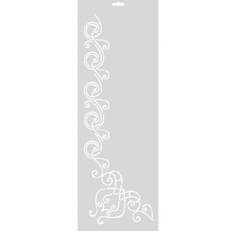 FabScraps, Stencil per Quilt 6 - Vortici 2, Swirls FabScraps - 1