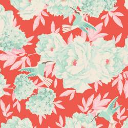 Tilda 110 Hummingbird Coral - LemonTree