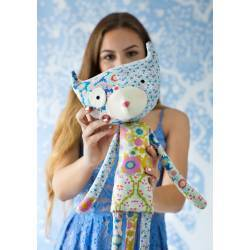 Tilda Kit Gatto Patch Cat, 61 cm