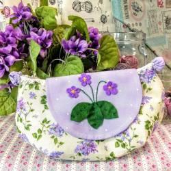 Cartamodello Pochette Violetta